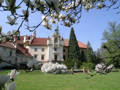 Pruhonice Park Castle - Great Courtyard