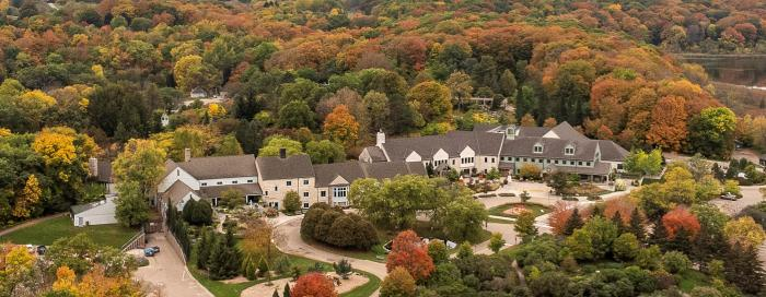 Arboretum Drone view