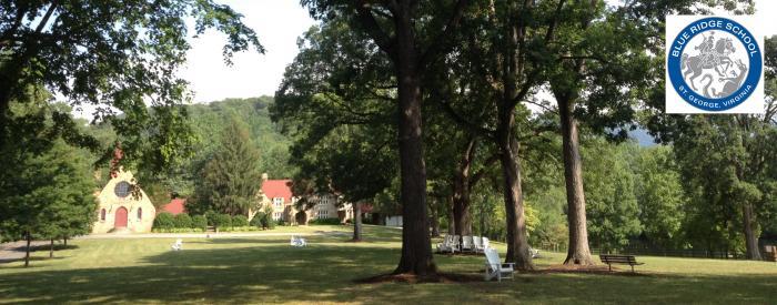 Blue Ridge School front lawn
