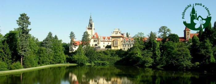 Pruhonice Park Castle