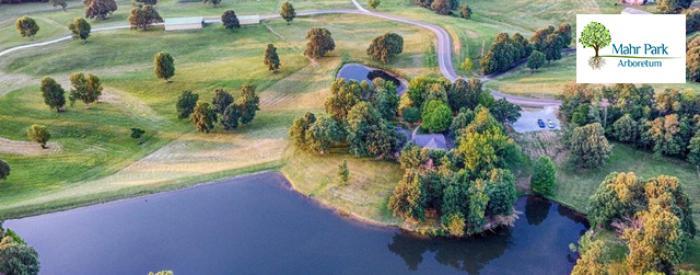 Mahr Park drone view