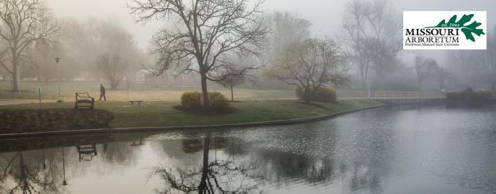 Missouri Arboretum - campus spring